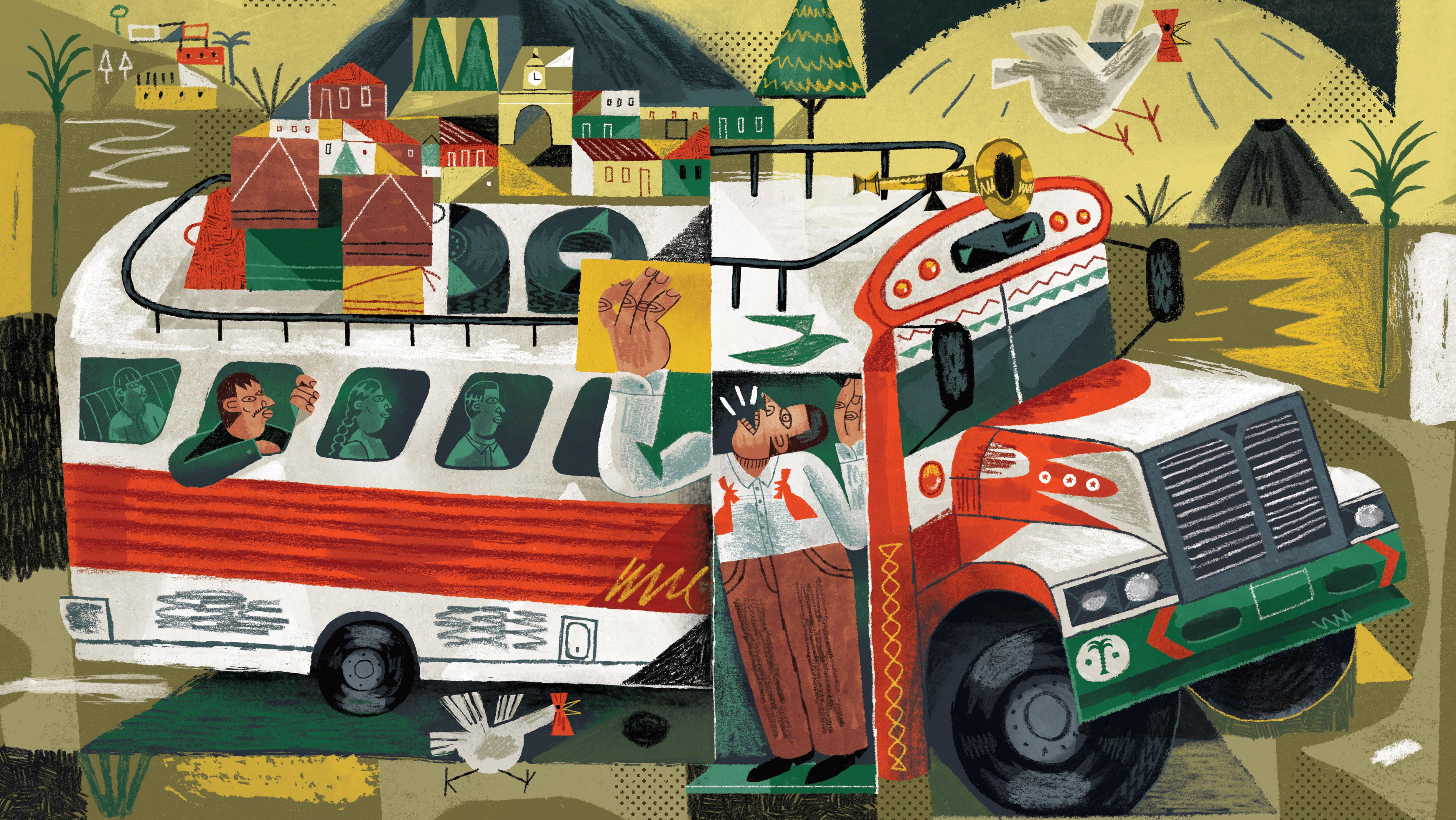 Illustration by Rômolo D'Hipólito