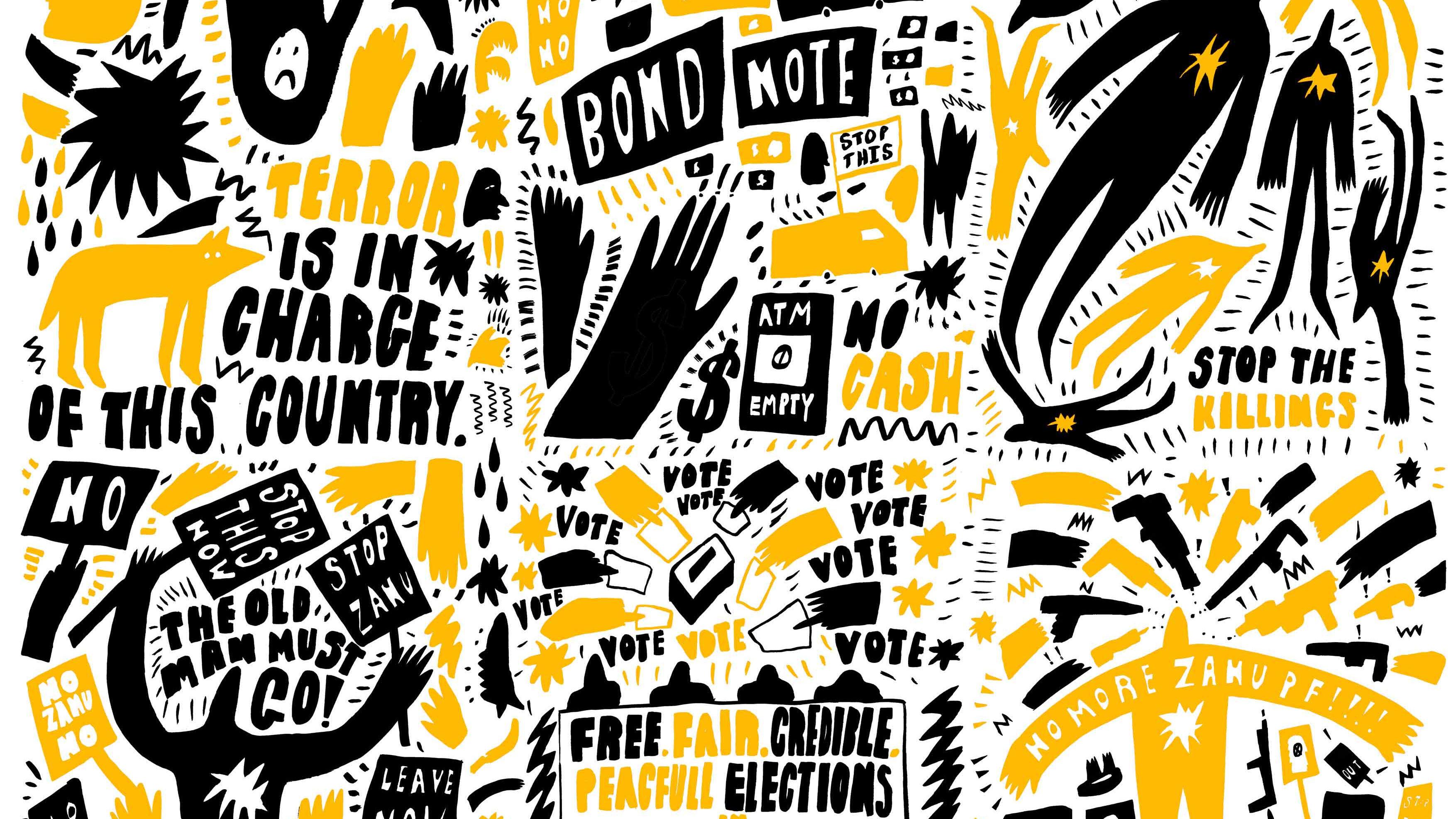 Graphic design by Yolande Mutale
