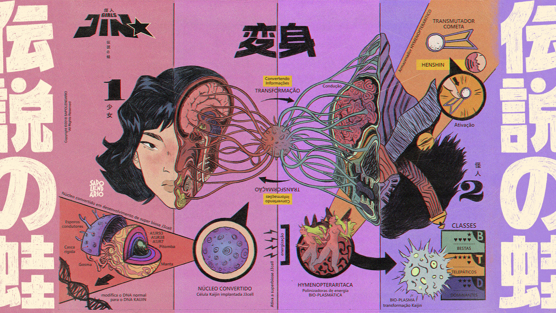 Graphic design by Sapo Lendario
